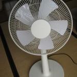 プラスマイナスゼロの扇風機の全体写真7