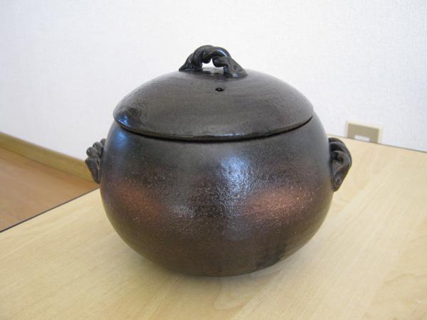 伊賀ごはん鍋 3合炊 M4806の写真