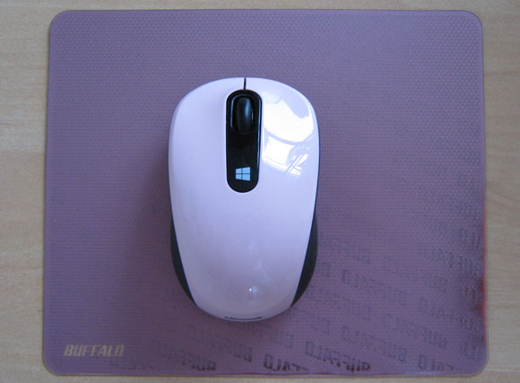 マイクロソフトSculpt Mobile Mouse全体図